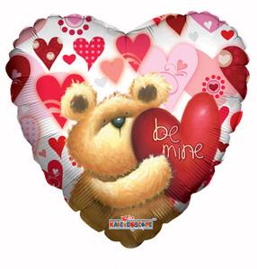 "18"" Be My Valentine Huggable Bear 1ct #19115"