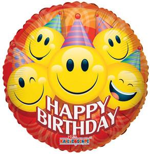 """18"""" Birthday Smiles 1ct"""