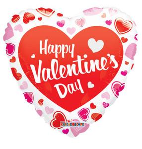 "18"" Happy Valentines Day Classic Balloon 1ct #81181"