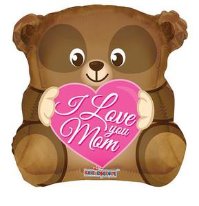 "18"" I Love You Mom Bear 1ct"