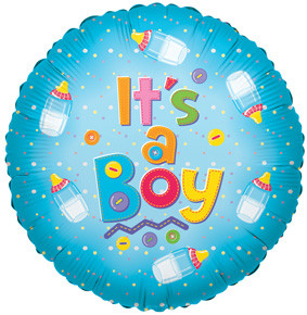 "18"" It's a Boy Bottles 1ct #17549"