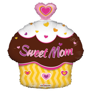 mothers day cup cake balloon
