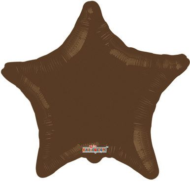 brown star balloons