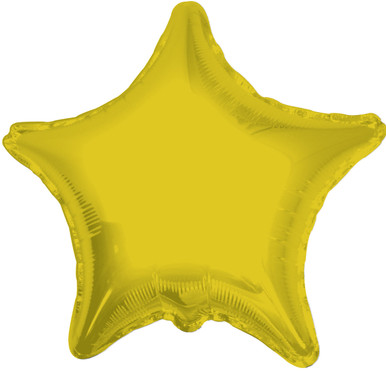 gold star balloons foil gold star balloons