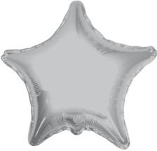 silver star balloon