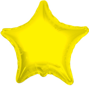 yellow star balloons