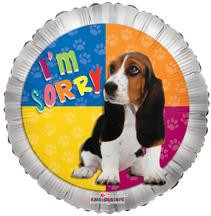 "9"" I'm Sorry Dog Air Fill 1ct  #19230"