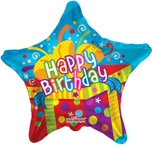 "19"" Birthday Big Present 1ct #19277"