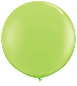 "36"" Lime Round Latex Balloon"