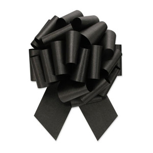 "5"" Black Perfect Pull Bow 1ct"