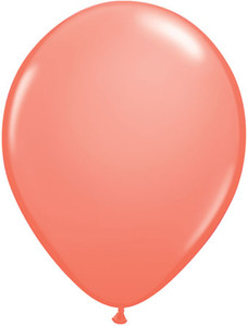 "5"" Qualatex Coral Latex Balloons 100Bag #24258-5"