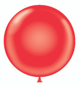 giant red balloon