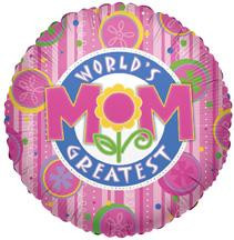 "18"" World's Greatest Mom Balloon 1ct #84109"