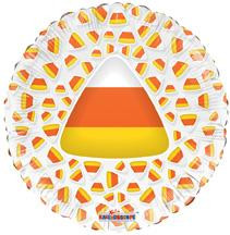 "18"" Candy Corn Clear View 1ct"