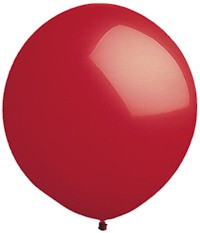 "84"" Biggest Round Red Balloon 1ct #9607"