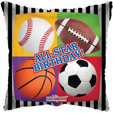 "9"" All Star Birthday Mini Foil Balloon 1ct"