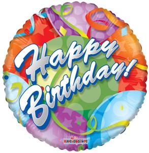 "9"" Mini Birthday Festive Balloons 1ct 1"