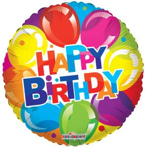 """9"""" Mini Birthday Shiny Balloons 1ct"""