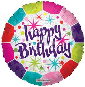 "9"" Mini Happy Birthday Fresh 1ct"