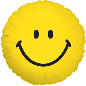 "9"" Smiley Face Mini 1ct"