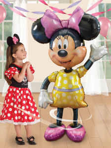 Minnie Mouse AirWalker Balloon #08319AW