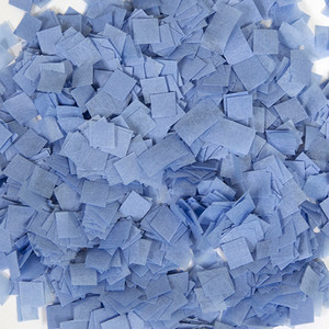 Baby Blue Snow Tissue Confetti 1LB Bag