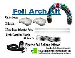 Foil Balloon Arch Kit  Re-Useable FREE SHIPPING