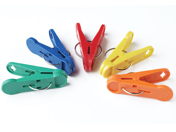 8 Gram Clip-N-Weight Primary Colors 100 per Bag #CNWA10/100