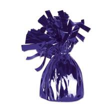 purple balloon weights