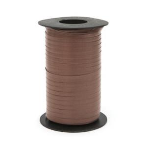 """Brown Thin Curling Ribbon 3/16""""x1500' #118"""