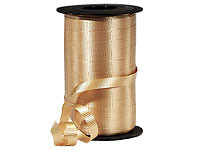"Gold Wide Curling Ribbon 3/8""x750' #315"