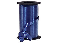 "Navy Wide Curling Ribbon 3/8""x750' #362"