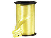 "Yellow Wide Curling Ribbon 3/8""x750' #365"