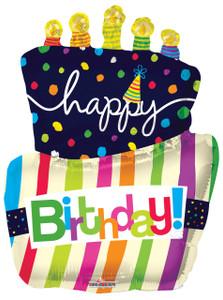 "36"" Jumbo Birthday Cake Balloons"