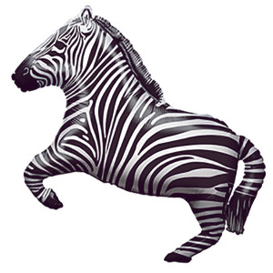 "30"" Party Zebra"