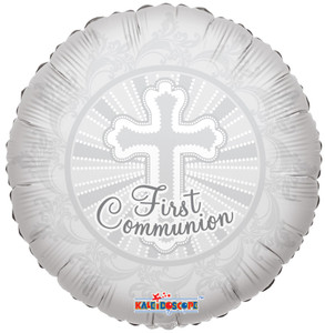 communion balloons first communion balloons