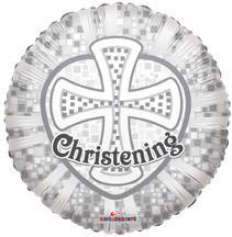 "18"" Prismatic Christening 1ct"