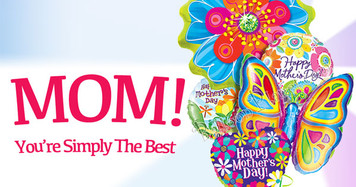 Mothers Day Balloon Bulk 100 Package