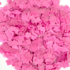 Pink Snow Tissue Confetti 1LB Bag