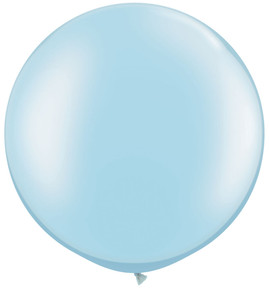"30"" Qualatex Pearl Lt Blue 1ct #39882"