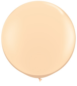 "36"" Qualatex Round Blush Balloons 1ct #82987"