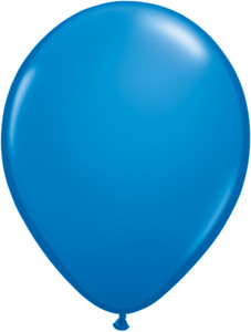 "5"" Qualatex Dark Blue Latex Balloons 100Bag #43553-5"