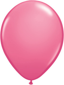 "5"" Qualatex Rose Latex Balloons 100Bag #43600-5"