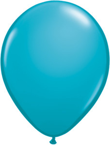 "5"" Qualatex Tropical Teal Latex Balloons 100Bag #43605"