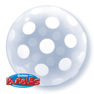 "20"" Dots Around Bubble Balloon"