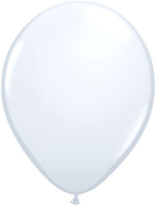 "16"" Qualatex Standard White 50ct"