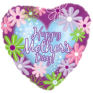 happy mothers day mylar balloons