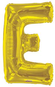 gold letter e balloons mylar letter balloons