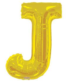 letter j balloons gold letter balloons