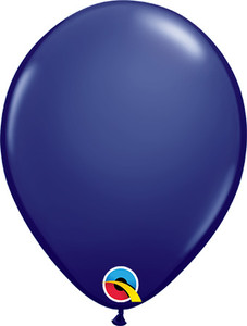 navy blue balloons
